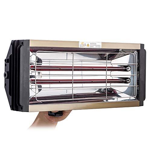2000W Coche Secador Pintura Infrarrojo Secador de Pintura Infrarrojo para Carrocería Coche Manual Pintura Curado Lámpara Portátil Calentador Infrarrojo Pintura Horneado Secadora