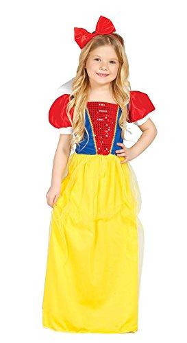 Sneeuwwitje - kostuum voor meisjes maat 110 - 146 110-116 meerdere kleuren