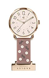 3-Hand Analogue Display Bracelet Strap Round Dial Rose Gold Casing Pink Strap