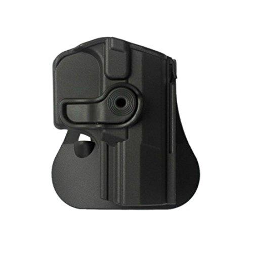 IMI Defense Z1350 Tactical verstellbar drehbar drehung Pistole Holster für Walther P99, P99 AS, P99C AS, P99 Gen.2 verdeckte Trage Polymer Taktik ROTO Pistolenhalfter