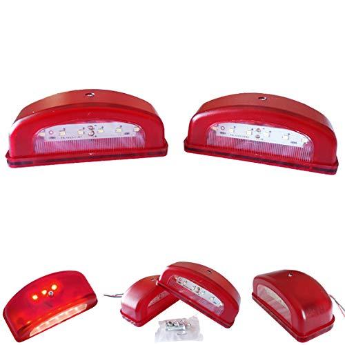LED Kennzeichenleuchte Anhänger Nummerschildleuchte Kennzeichenbeleuchtung LKW