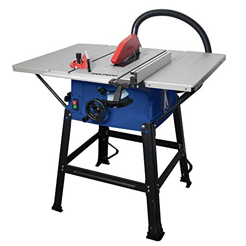 Tooltronix 1800W Table Saw 10' 250mm Blade Extendable Bench 5000 RPM Precision Cut