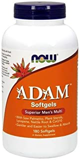 [海外直送品] ナウフーズ  ADAM Superior Men's Multi 180 Softgels