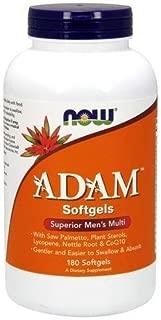 NOW Foods AdamTM Men's Multiple Vitamin -Softgels,180 Count (Pack of 1)