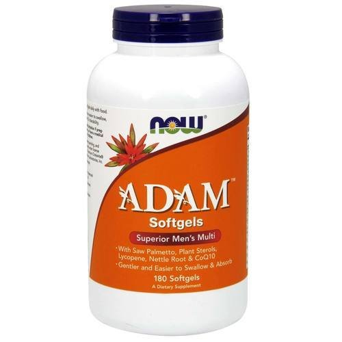 Now Foods–Multi Superior weicher Adam Männer–180Kapseln