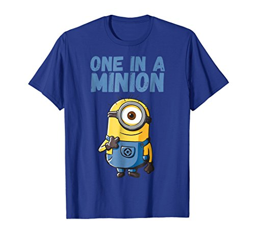 Despicable Me Minions Stuart One In A Minion Graphic T-Shirt