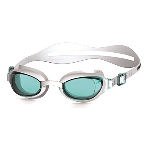 Speedo Schwimmbrille Aquapure, White/Blue, One Size