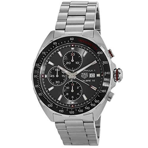 TAG Heuer Reloj de Hombre automático Correa y Caja de Acero CAZ2012.BA0876