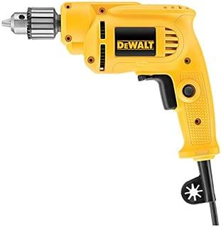 DEWALT Corded Drill with Keyed Chuck, 7.0-Amp, 3/8-Inch (DWE1014)