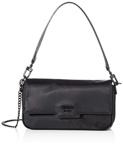 Guess Me Mini Flap, BACKPACK Donna, BLACK, One Size