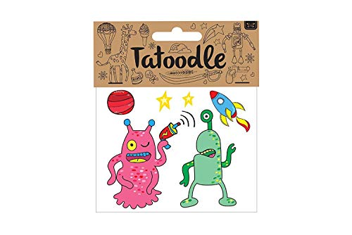 Alien tatoodle - Enfants Tatouage temporaire