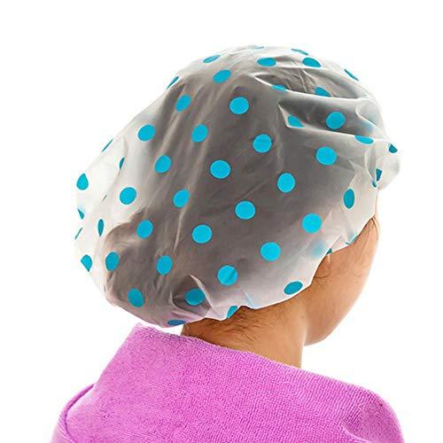 Coner douchemuts dameshoed voor baden en sauna's Kant met elastische band Spa-pet voor dames en kinderen Beschermende pet, kleurwillekeurig