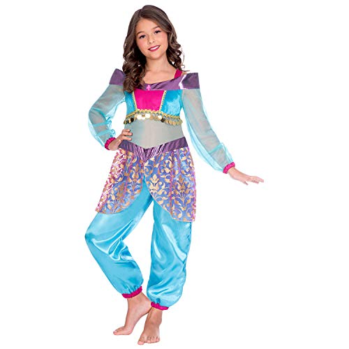 Rubie s Girls Shimmer And Shine Leah Genie per Bambini Costume