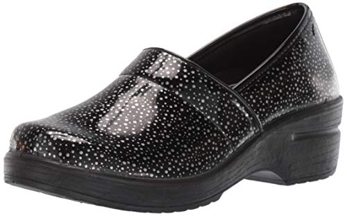 Easy Works womens Lyndee Health Care Professional Shoe, Blk Rain Drps, 5.5 US