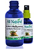 Molluscum Wart Remover Skincare All Natural Pro Meir's 2oz Spray Homeopathic Remedy Homeopathy Supplement Molluscum Contagiosum Molluscum Thuja Wart Remover Kosher Adults Men Women Kids