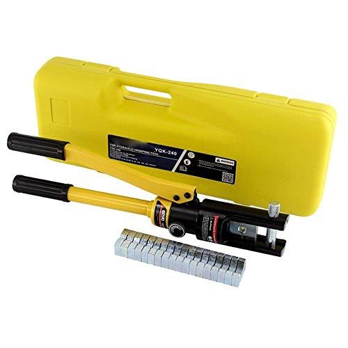 Hydraulische Kabelschuh Crimper Crimpzange 10-300mm2 Elektrische Batterieklemme Kabel-Draht-Tool Kit Draht, Breite Anwendung