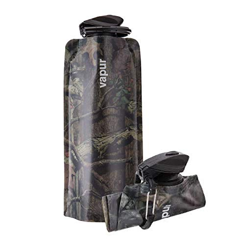 Vapur Mossy Oak anti reutilizable–Botella de agua, diseño de camuflaje, 0.7L