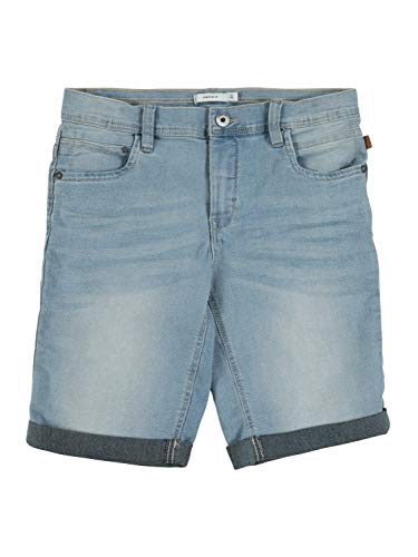 NAME IT jongens Jeansshorts NKMRYAN DNMCARTUS 1312 LONG SHORTS CAMP
