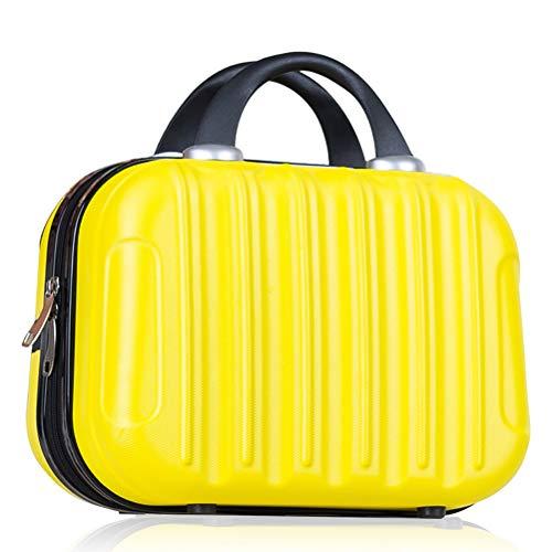 Leikance, mini valigia da viaggio portatile, custodia impermeabile per cosmetici con cinghie elastiche da 35,6 cm, Giallo (Giallo) - FA1122550_YW45FA1122550_YW