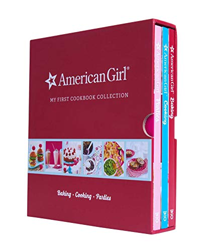 American Girl My First Cookbook Collection (Baking, Cookies, Parties): Baking Cooking Parties