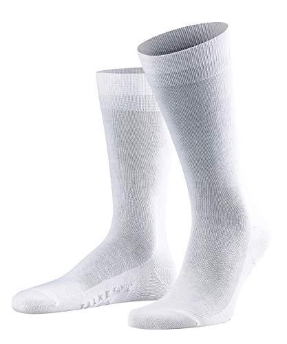 FALKE Herren Socken Family - 94% Baumwolle, 1 Paar, Weiß (White 2000), Größe: 39-42