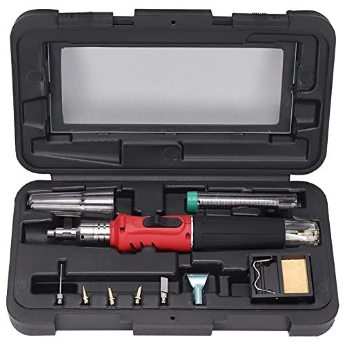 Kit de soldador 27 * 14 * 6 cm Juego de soldador profesional Soldador de mantenimiento eléctrico automático