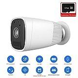 1080P HD wiederaufladbarem Akku kabellose Überwachungskamera WiFi IP-Überwachungskameras für zu Hause mit Zwei-Wege-Audio-PIR-Sensor zur Bewegungserkennung Night Vision mit 32G Micro-SD-Karte