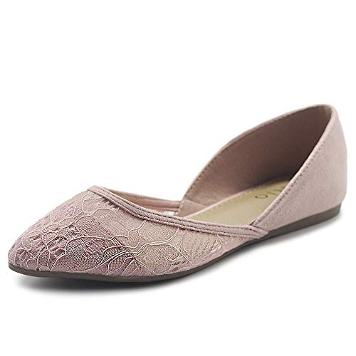 Top 10 best selling list for blush pink suede flat shoes