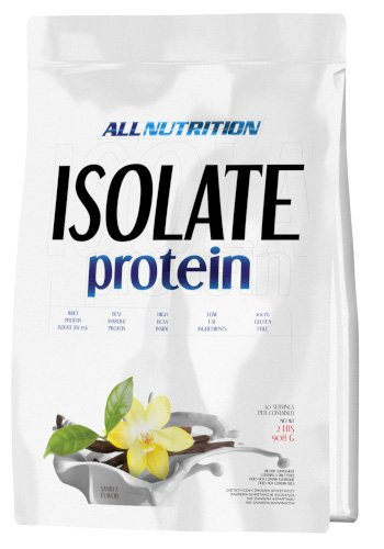 All Nutrition Aislar Proteína en Polvo, Fresa Choco Blanco 910 g