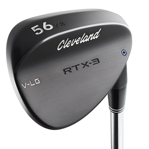 Product Image 1: Cleveland Golf Men's RTX-3 VLG Wedge, Left Hand, Steel, 60 Degree, Black Satin