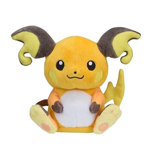 Raichu de Peluche #026 Pokémon Fit Official Gotta Catch 'Em All!