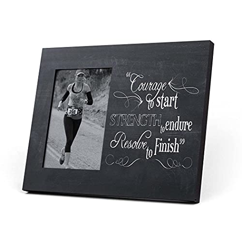 Running Picture Frame | Courage To Start | Chalkboard