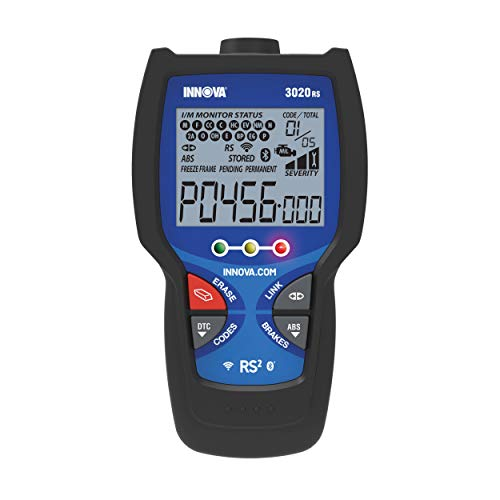 INNOVA 3020RS Code Scanner - Professional OBD2 Scanner - Smog Test Scan Tool - ABS & Code Severity - RepairSolutions2 App
