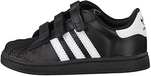 Adidas Superstar Foundation Sneakers unisex per bambini, bianco / blu / rosso