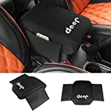 SUNPIE Neoprene Center Console Armrest Pad Cover with Storage Bag For Jeep Wrangler JK Sahara Sport Rubicon X &...