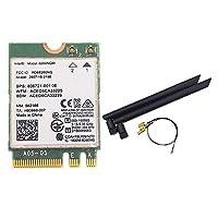 With 6DBI MHF4 RP-SMA Antennas set + Wireless-AC 8260 8260NGW NGFF wifi 867Mbps 802.11ac Bluetooth 4.2 Card