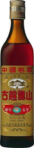 永昌源 紹興酒 古越龍山 陳年5年 瓶 500ml