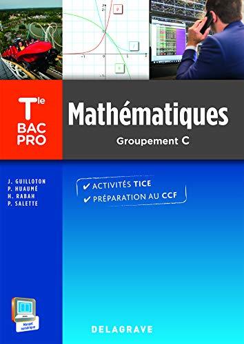 Mathématiques Tle Bac Pro (2015), groupement C - Pochette élève