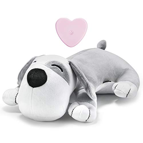 Moropaky Dog Toy Heartbeat Plush Puppy Toy Dog Training Toy to Separate Anxiety Relief for Calming Create Training Sleep Aid Behavioral Aid Dog Toys [ for Dogs Cats Pets ]