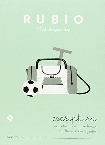 Rubio E-9 CAT - Cuaderno escritura (Escriptura RUBIO (català))