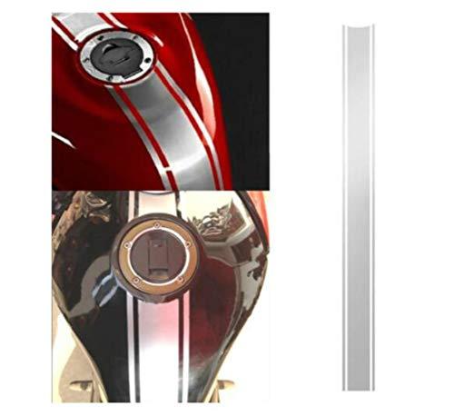SUCAN Motocicleta Rayas De Vinilo Tapa De Carenado De Tanque Etiqueta Adhesiva De Rayas Para Racer De Café Decadencia Del Tanque De La Cowl Vinyl Stripe Pinstripe Decal Sticker Para Cafe Racer