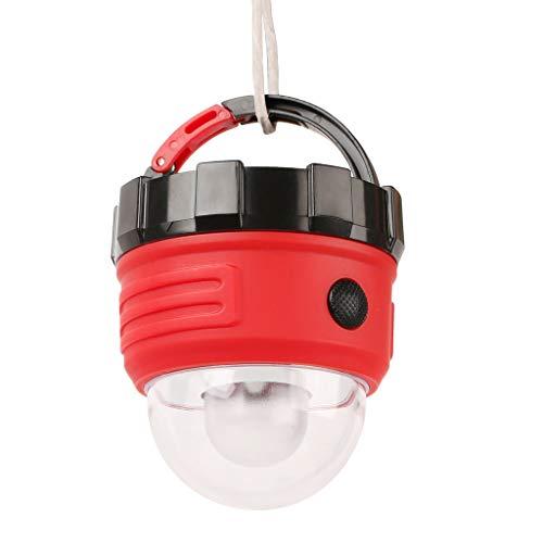 Jingdu - Linterna de camping portátil para exteriores, de emergencia, resistente al agua, para acampar