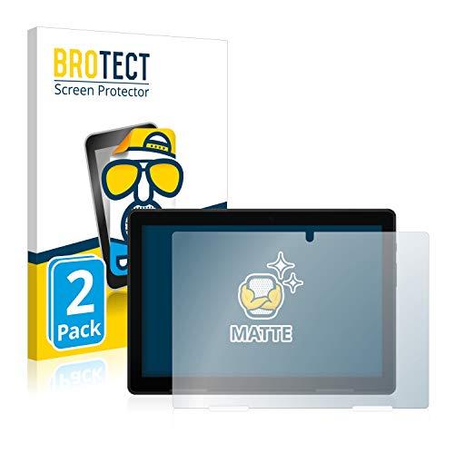 BROTECT 2X Entspiegelungs-Schutzfolie kompatibel mit Medion Lifetab P10710 Bildschirmschutz-Folie Matt, Anti-Reflex, Anti-Fingerprint
