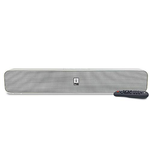 iBall Musi Bar High Power Compact Soundbar with Multiple Playback Options, White