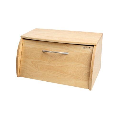 T&G Woodware T&G Scimitar Brotkasten aus natürlichem Hevea-Holz