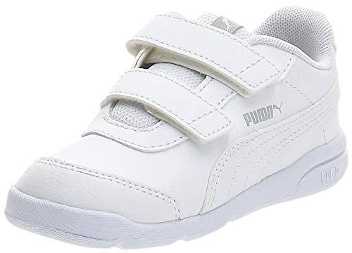Puma - Stepfleex 2 SL Ve V Inf, Zapatillas Unisex Niños, Blanco (Puma White-Puma White 01), 25 EU