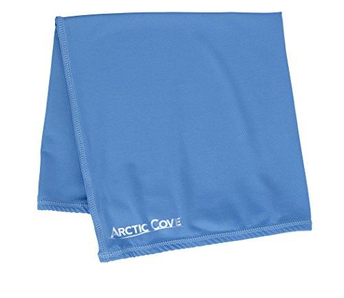Arctic Cove Multi-Wrap Towel 10 in x 20 in (Blue)