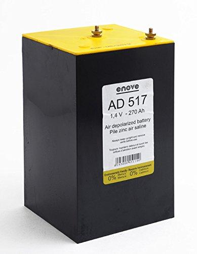 Enove - Batterie Luftsauerstoff Zink-Kohle AD517 1.4V 270Ah
