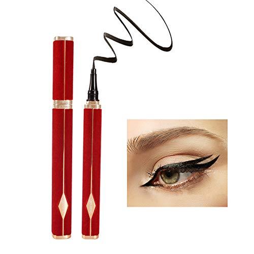 ONLYOILY Eyeliner Wasserfest Schwarz Liquid Eyeliner Präzisionsminiatur Schnell trocknend Langlebig Eyeliner