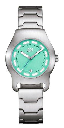 Caterpillar Daunton CA0644 - Reloj de Mujer de Cuarzo, Correa de Acero Inoxidable Color Plata